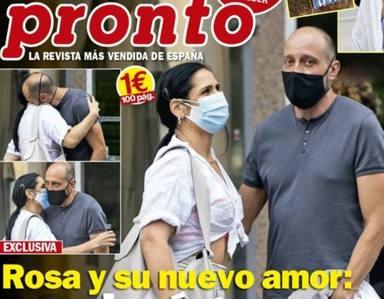 Rosa López con su nueva pareja en la revista PRONTO