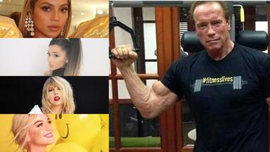 La diva del pop que motiva a Arnold Schwarzenegger a entrenar