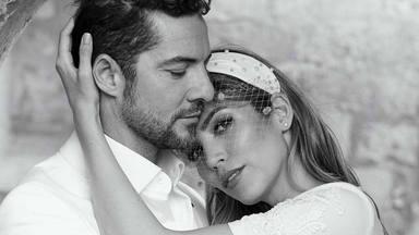 La romántica y original forma de despedir el año de David Bisbal y Rosanna Zanetti