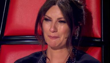 Laura Pausini se emociona con el mensaje de Jan, el hijo de Antonio Orozco