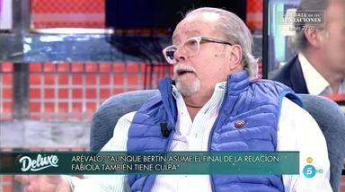 """Arévalo da la cara y destapa las sombras del matrimonio de Bertín y Fabiola: """"Yo le veía distinto"""""""