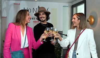 Paz Padilla y Anna Ferrer presentan su colección de bolsos Noniná