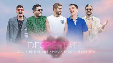 """Cali Y El Dandee, Mau Y Ricky y Guaynaa se reúnen y presentan """"Despiértate"""""""