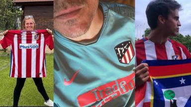 Varios famosos celebraron en las redes sociales el título de Liga del Atlético de Madrid
