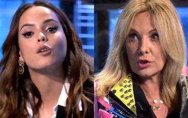 """El feo comentario de Gloria Camila a Belén Rodríguez en su intento de defensa a Olga Moreno: """"No me faltes"""""""