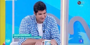 Julián Contreras, destrozado por su inesperado despido de 'Días de verano', de TVE