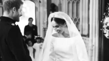 Saben a la luz las canciones que Meghan Markle y el príncipe Harry bailaron en su boda