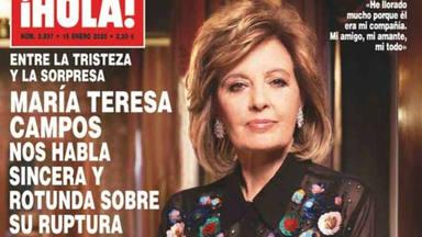 María Teresa Campos cuenta toda la verdad: Edmundo me dejó por whatssap y sin opción a responder
