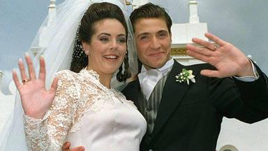 Antonio David Flores recuerda su boda con Rocío Carrasco y en especial su vestido de novia