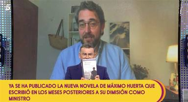 Maxim Huerta se sincera en Sálvame