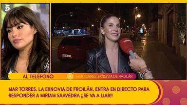 Mart Torres entra en 'Sálvame' para desmentir la relación de Froilán con Miriam Saavedra