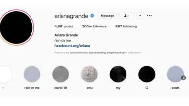 Ariana Grande consigue convertirse en una de las personas más seguidas en instagram