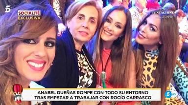 Anabel Dueñas, desaparecida desde que empezó a trabajar con Rocío Carrasco