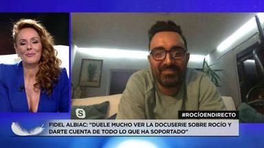 La declaración de amor de Fidel Albiac en directo a Rocio Carrasco