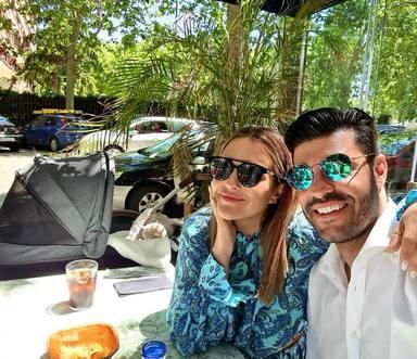 Paula Echevarría junto a Miguel Torres en una imagen de las redes sociales de la actriz
