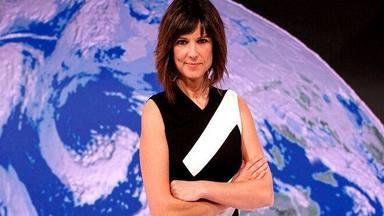 Mónica López, profesional que nos informa el tiempo en TVE