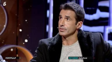 Hugo Sierra, ganador de 'Gran Hermano Revolution', en el plató de 'GH VIP 7'