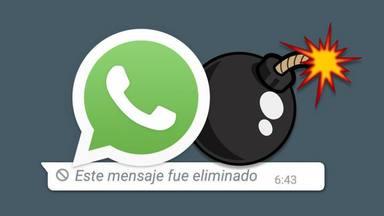 WhatsApp permetrà destruir missatges