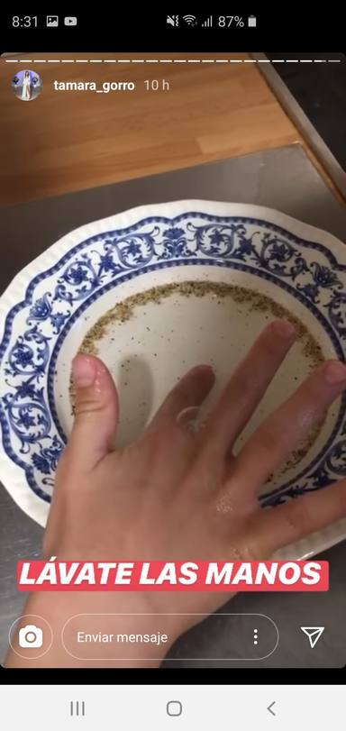 Coronavirus: lavarse las manos vídeo viral