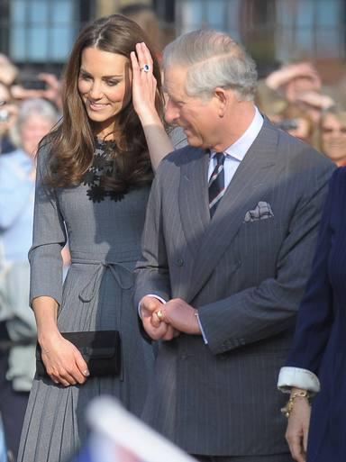 La duquesa de Cambridge, Kate Middleton, tiene una estupenda relación con los Windsor