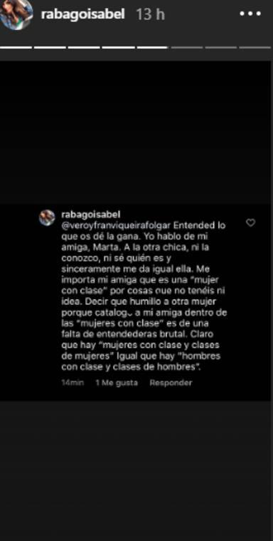 Isabel Rábago se defiende de las críticas en Twitter