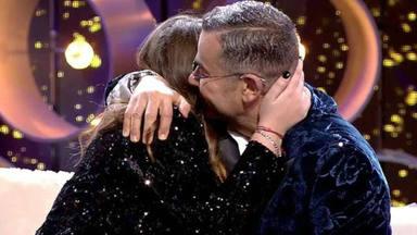 Jorge Javier Vázquez abraza a Rocío Flores