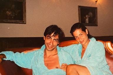 Nuria Roca comparte una imagen de hace quince años