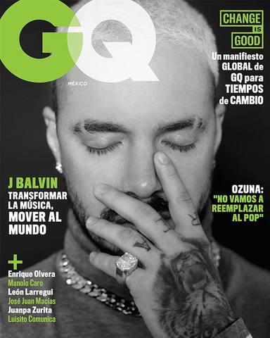 La nueva portada de GQ con J Balvin