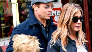 Brad Pitt y Jennifer Aniston, reconciliándose en Italia