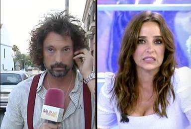 José Antonio León se enzarza con Carmen Alcayde en directo en 'Sálvame' por una polémica frase