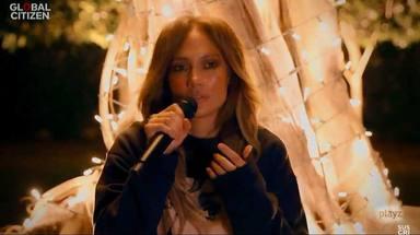 Jennifer López en el concierto 'One World: Together at home'
