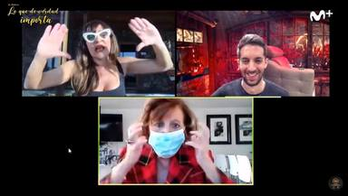 María Teresa Campos explica que Terelu le obliga a usar mascarilla y guantes en casa