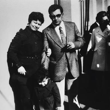 El padre y la madre de Jorge Javier Vázquez