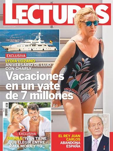 Lydia Lozano y sus vacaciones de lujo en Ibiza
