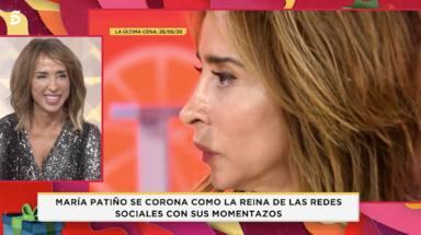 La presentadora, María Patiño, reflexiona sobre su vida