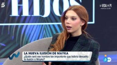 La reacción de Alejandra Rubio al ver unas fotos de sus padres