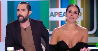 """El tremendo enfado de Cristina Pedroche y Dani Mateo con un compañero de 'Zapeando': """"¿Tú eres idiota?"""""""
