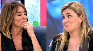 """María Patiño, rota, confiesa el motivo real de su distanciamiento con Carlota Corredera: """"Ni nos mirábamos"""""""