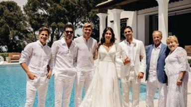 El hijo mayor de Simeone se casa y lo celebra en una boda ibicenca de lo más bonito