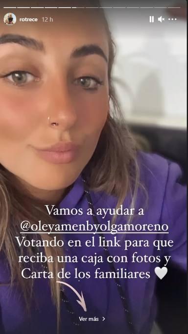 Rocío Flores pide, de nuevo, ayuda para Olga Moreno en Supervivientes