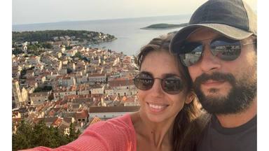 Elena Furiase y Gonzalo Sierra: luna de miel en Grecia