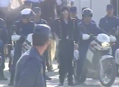 La Policía Nacional publica un vídeo inédito de Michael Jackson