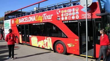 El primer bus turístic de dues plantes 100% elèctric