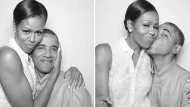 La bonita declaración de amor de Obama a Michelle con imágenes inéditas incluidas: ''Felicidades, nena''