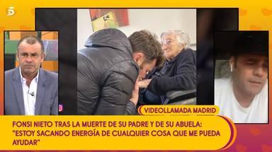Fonsi Nieto habla por primera vez de lo mal que lo ha pasado tras la muerte de su abuela y su padre