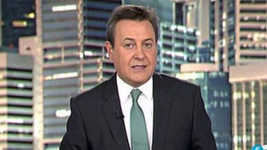 Pepe Ribagorda, presentador de 'Informativos Telecinco', contra los vecinos que echan a los sanitarios