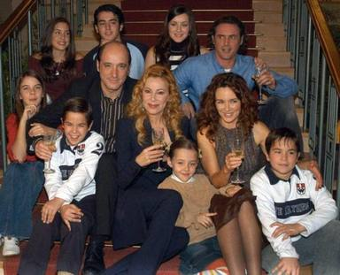 Ana y los siete, una serie que hizo historia en la televisión y que lanzó a Ana Obregón a la fama
