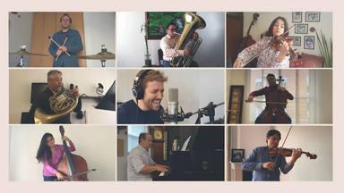 """Pablo Alborán y su versión sinfónica de """"Cuando estés aquí"""", apoyada en sus fans y dirigida a UNICEF"""
