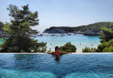 Paula Echevarría de vacaciones en Menorca