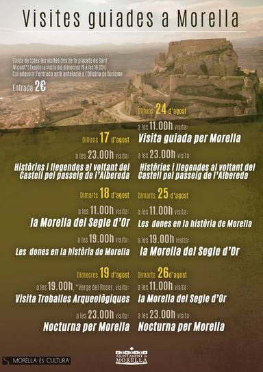 Visitas guiadas Morella